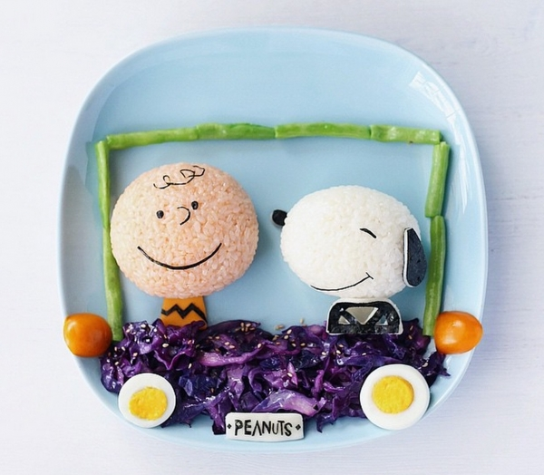 30 creative immagini di Food Art