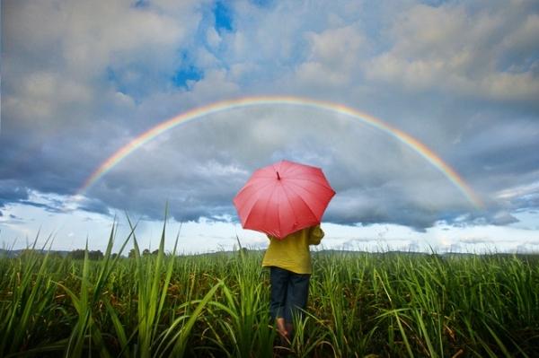 30 e oltre esempi di fotografie dedicate agli arcobaleni