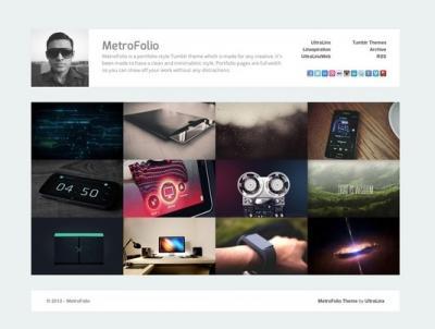 30 e oltre temi tumblr di siti portfolio