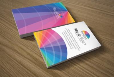 30 esempi di biglietti da visita coloratissimi