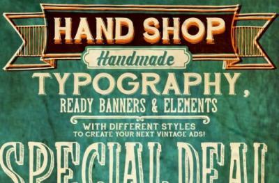 30 fonts vintage e retro gratis