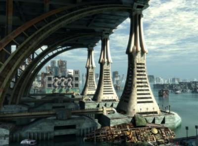 30 futuristici sfondi e design in stile sci-fi