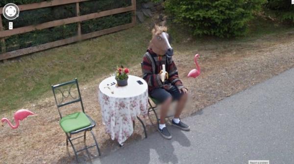 30 scene divertenti riprese da Google Street View