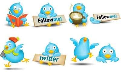 30 sets di icone in alta qualita dedicate a Twitter