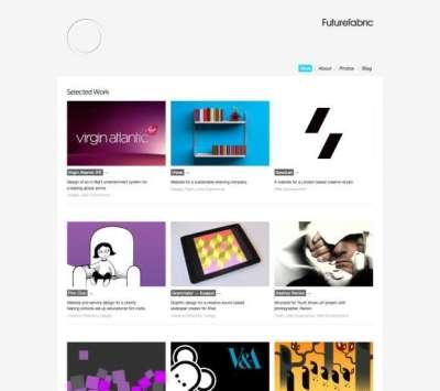 30 siti portfolio super minimali