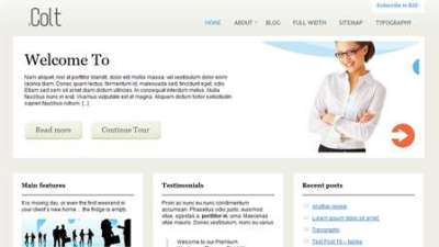 30 temi a 3 colonne per Wordpress