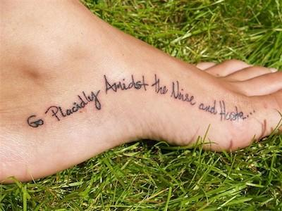 30 tra i migliori tatuaggi di frasi amorose