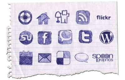 33 Beautiful Social Media Icon Sets