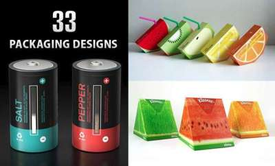 33 brillanti e creativi packaging design