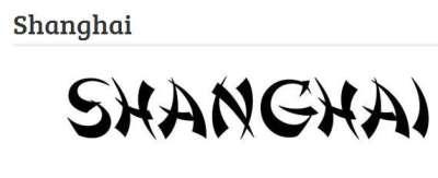 33 fonts gratis in stile giapponese e cinese