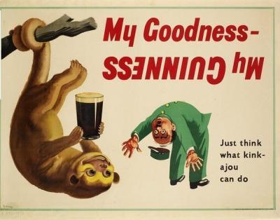 35 deliziosi e divertenti poster vintage della Guinness