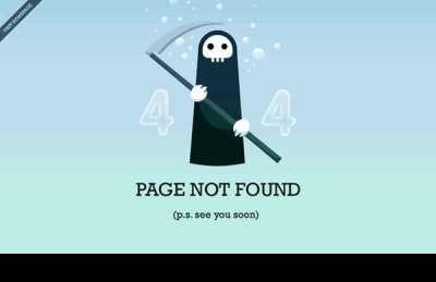 35 esempi cool di pagine di errore