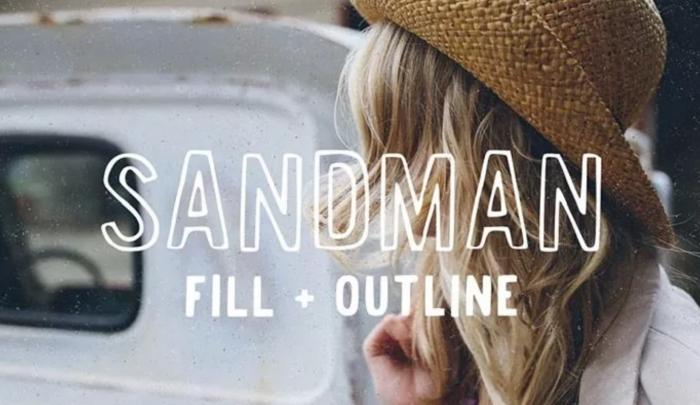 35 Outline Fonts per progetti grafici