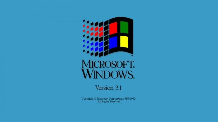 3 sfondi dedicati a Microsoft Windows 3.1 NT