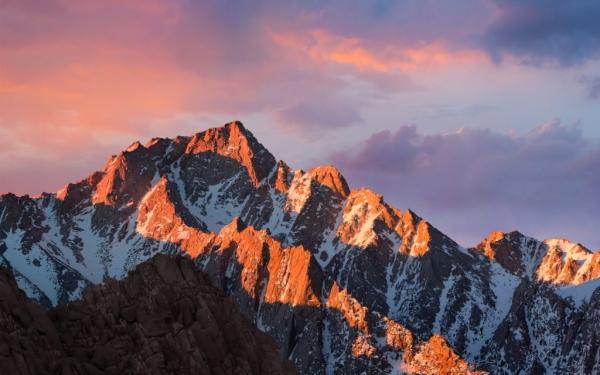 3 versioni per sfondo di macOS Sierra