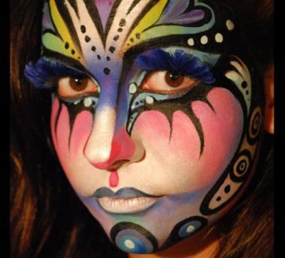 40 bellissimi face painting da ispirazione
