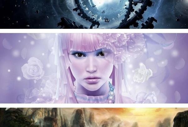 40 cover fantasy per facebook in HD