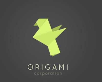 40 creativi loghi da origami