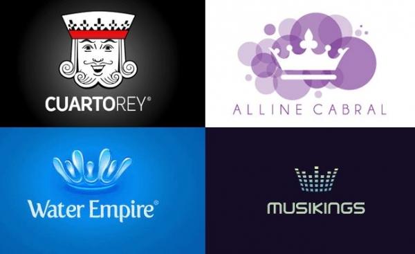 40 creativi loghi dedicati al re ed alla regina