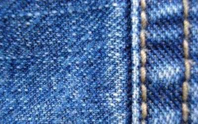 40 e oltre texture di jeans
