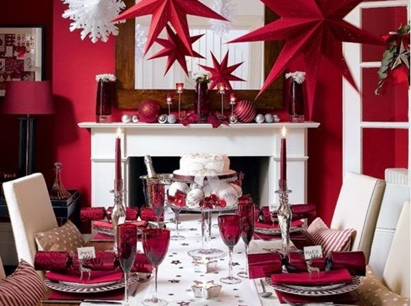 40 idee per imbandire la tavola di Natale