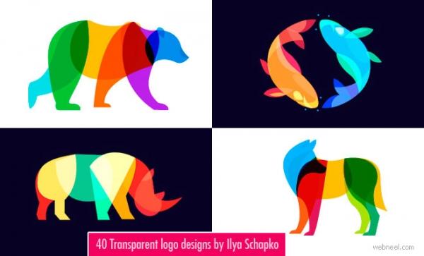 40 nuovi loghi trasparenti e con effetto blend