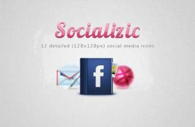 40 set di icone gratis di social media