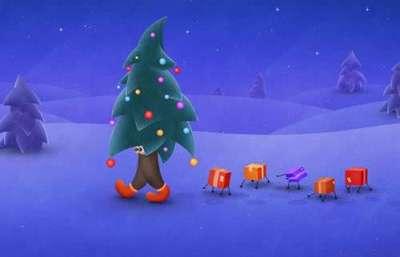 40 sfondi di Natale per iPad molto belli