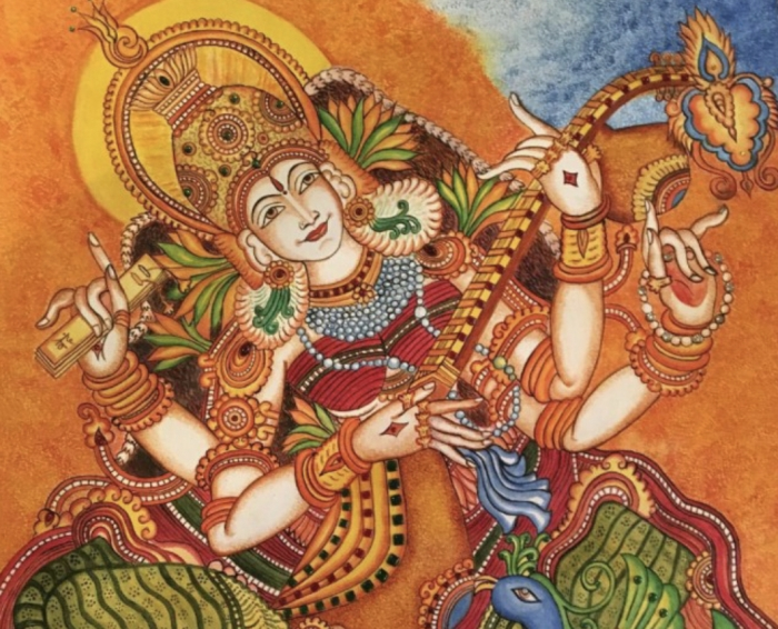 40 tradizionali Kerala murales
