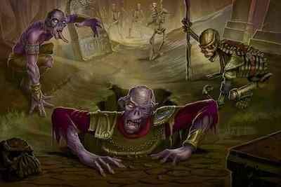 45 artworks di zombie apocalittici