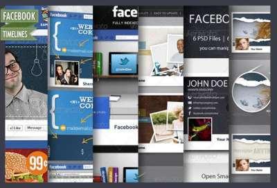 45 templates per la timeline di Facebook