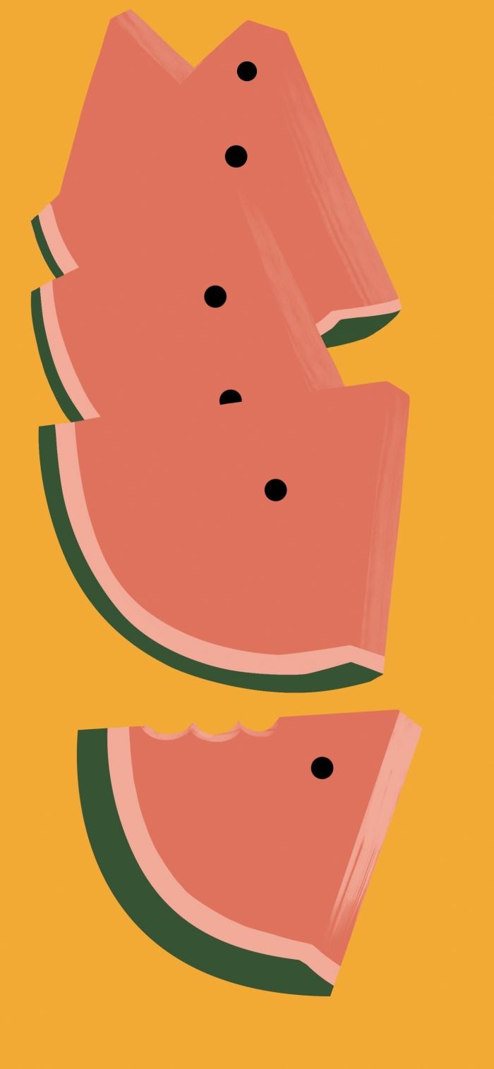 4 Sfondi ufficiali Pixel 6 a tema frutta e gelato