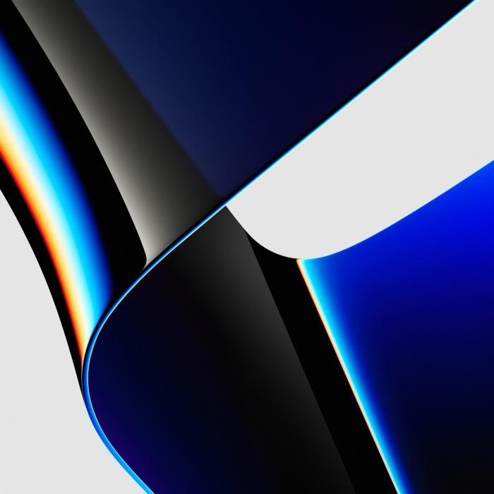 4 sfondi ufficiali sul MacBook Pro 2021