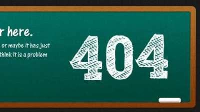 50 e oltre esempi di pagine di errore 404