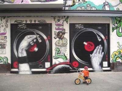 50 esempi di graffiti in giro per il mondo