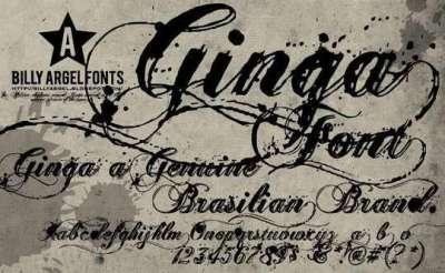 50 fonts vintages e retro