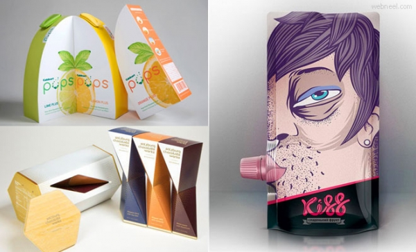 50 idee diverse del packaging design
