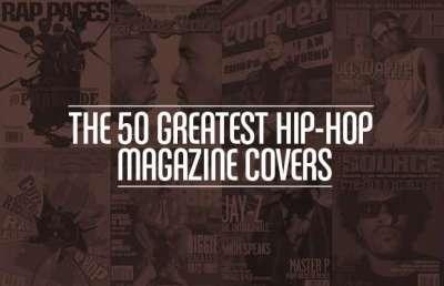50 migliori copertine dalle riviste hip hop