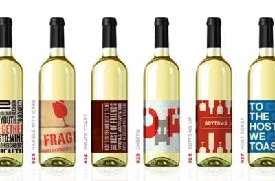50 squisiti esempi di design di etichette di bottiglie