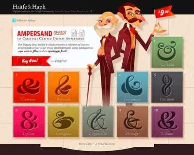 55 siti web colorati per web designers