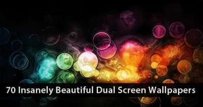 70 bellissimi sfondi dual screen