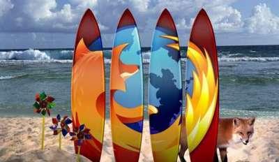 70 e piu graziosi sfondi per Firefox