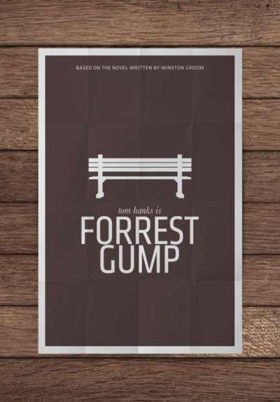 70 esempi di posters minimalisti di films