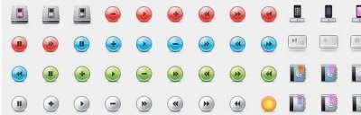 70 sets di icone impressionati per il web designer