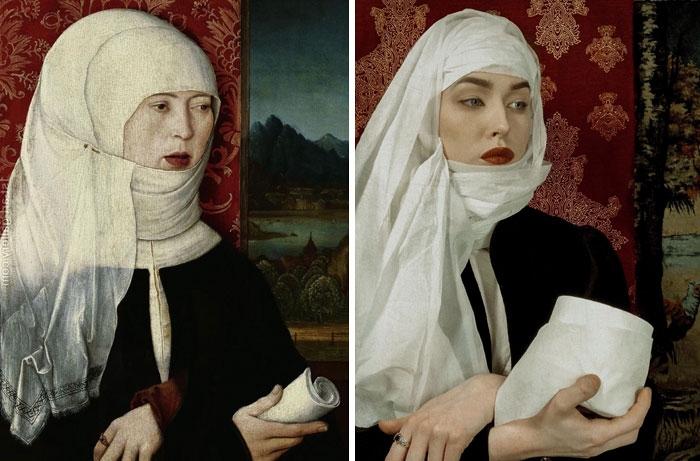 76 opere d'arte ricreate a casa (con non sempre buoni risultati)