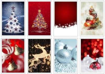 80 sfondi di Natale per iPhone 4 e 4S