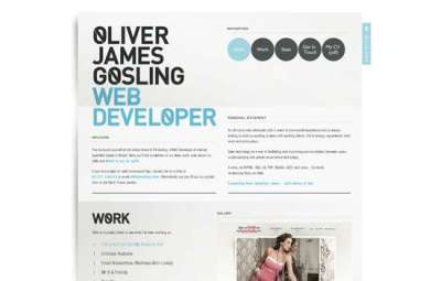 85 siti web minimalisti per ispirazioni di design