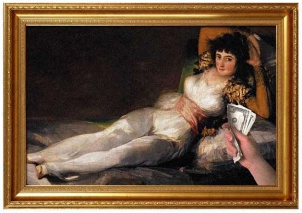 8 e oltre interpretazioni simpatiche di quadri famosi