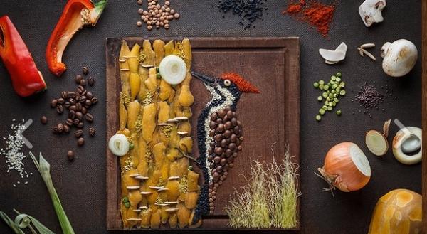 9 e oltre lavori artistici applicati al cibo