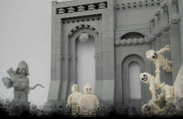 9 giorni dell'Inferno ricreati con i Lego